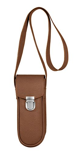 Leather bag for 3 boules