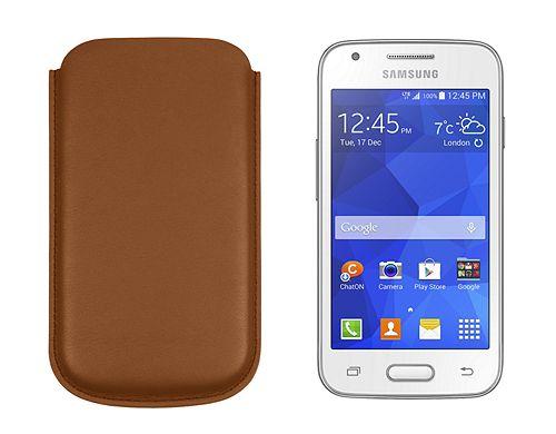 Ledertasche für Samsung Galaxy Ace 4