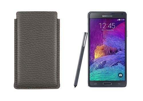 Custodia co linguetta per Samsung Galaxy Note 4