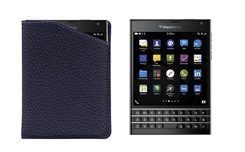 Notched case for BlackBerry Passport
