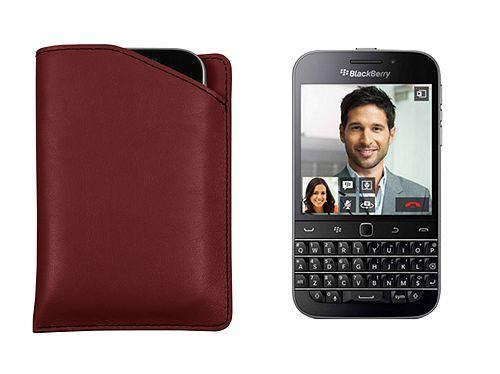 Custodia con incavo per Blackberry Classic