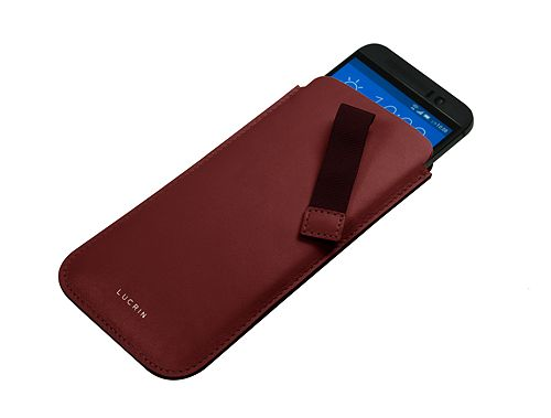 Case with pull-up strap for HTC One M9
