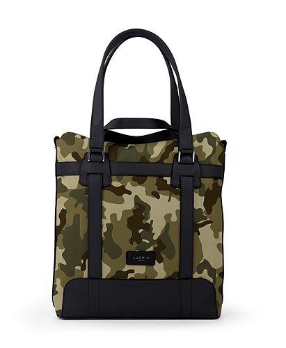 Tote bag - Dark Green-Black - Camouflage