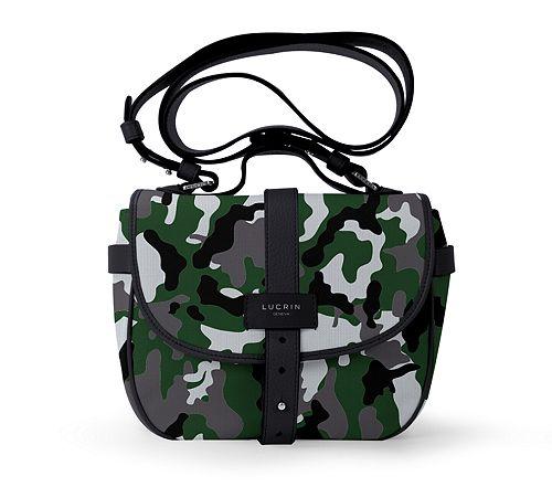 Side bag - Light Green-Black - Camouflage