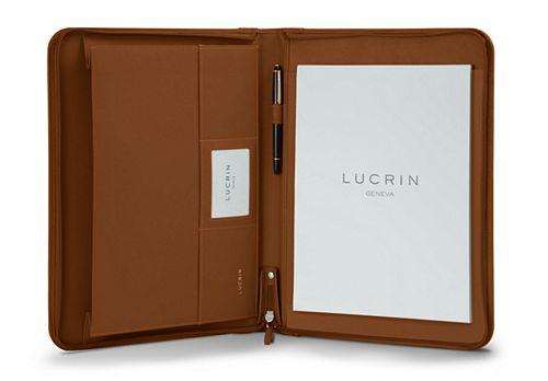 A4 Luxury Portfolio with zipper