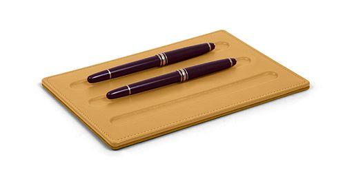 Support pour 3 stylos à coins carrés