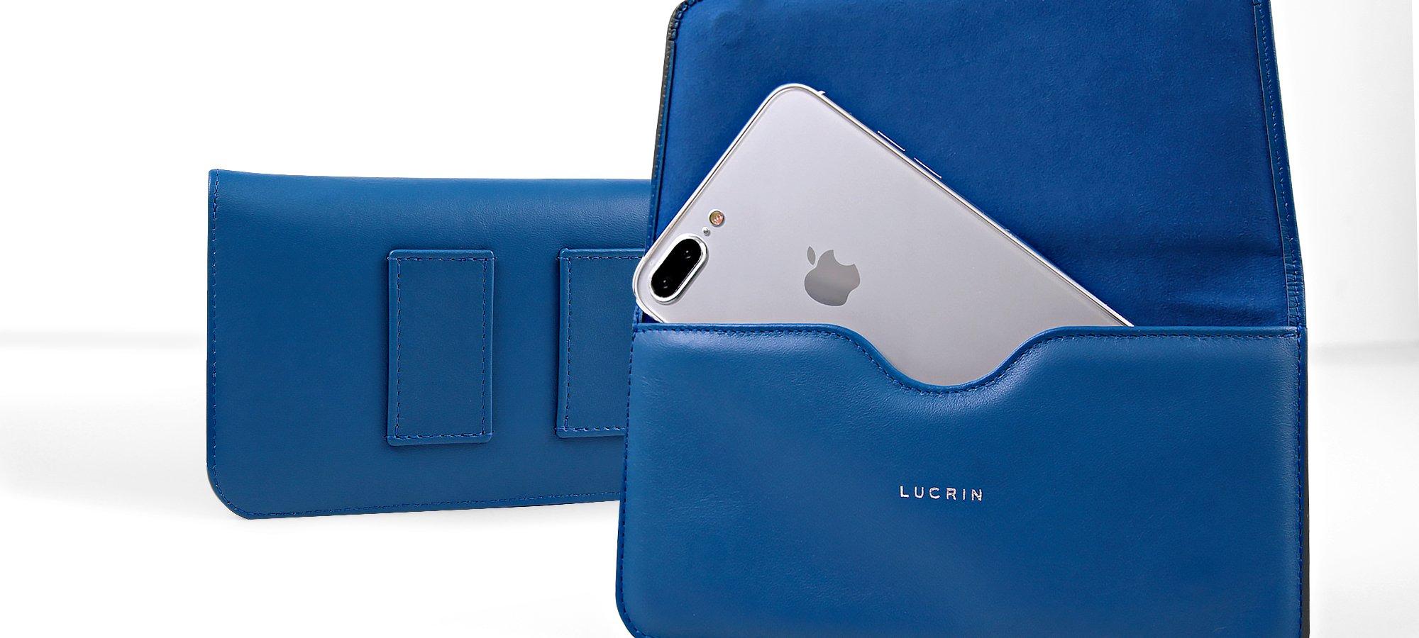 Étui Ceinture en cuir pour iPhone 8 Plus b91318db385