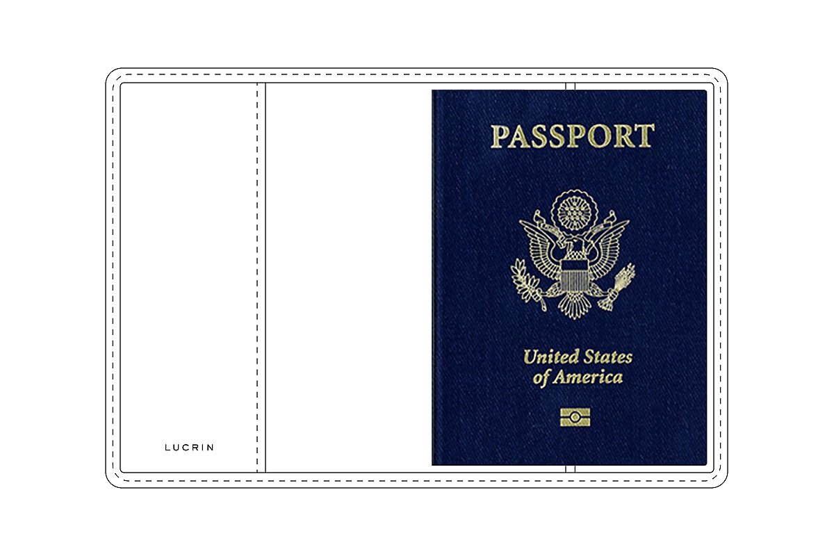 Universal Passport Leather Cover