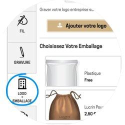 L'option logo et emballage