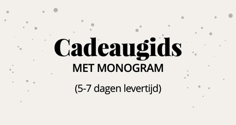 Cadeaugids met monogram (5-7 dagen levertijd)
