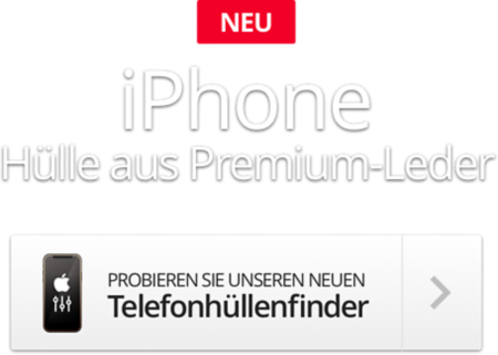 iPhone Ledertasche