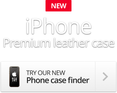New iPhone - Premium leather case