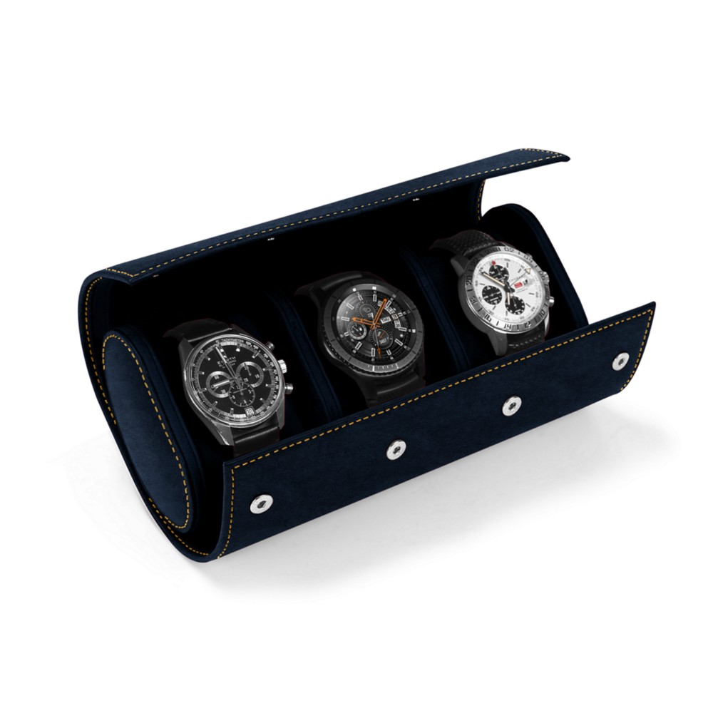 Watch case for 3 watches