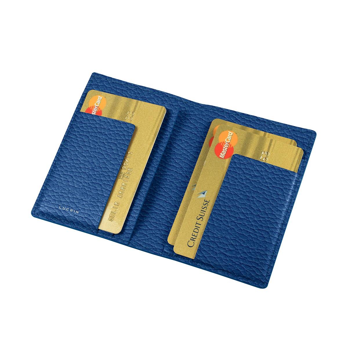 Porte-cartes à 6 poches plates