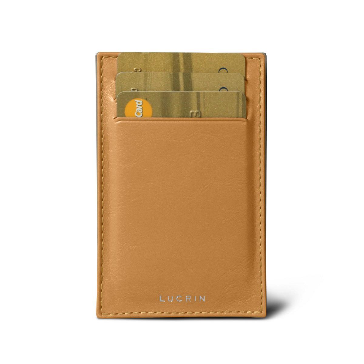 Pocket note pad & card holder