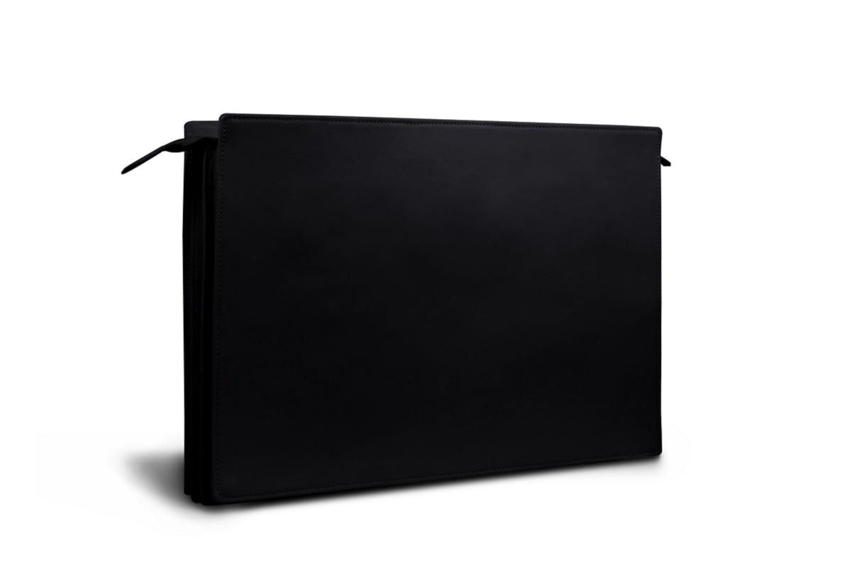 Document Case with 3 Compartments