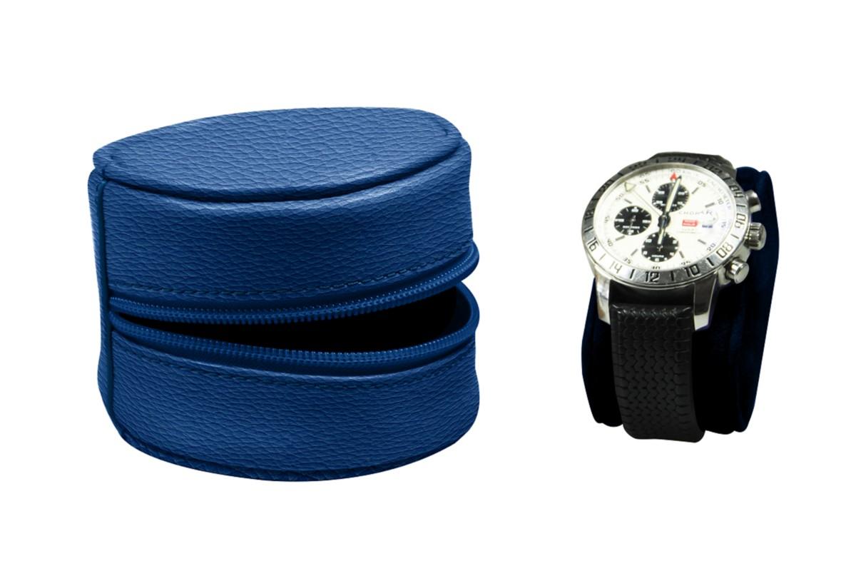 Soft round case for watch