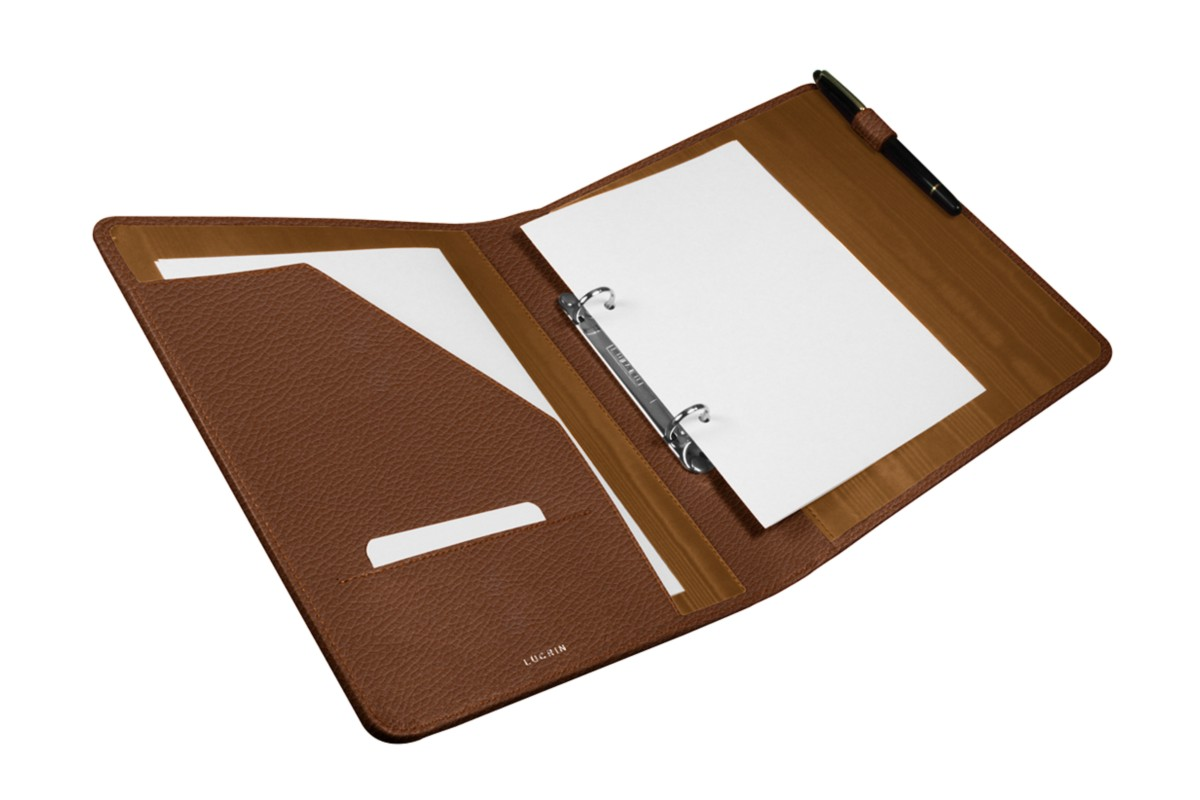 2 round ring A5 binder with pocket