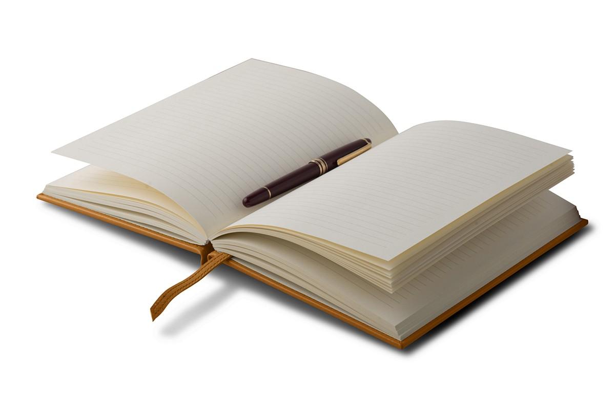 Notizbuch A5, 150 Seiten liniert