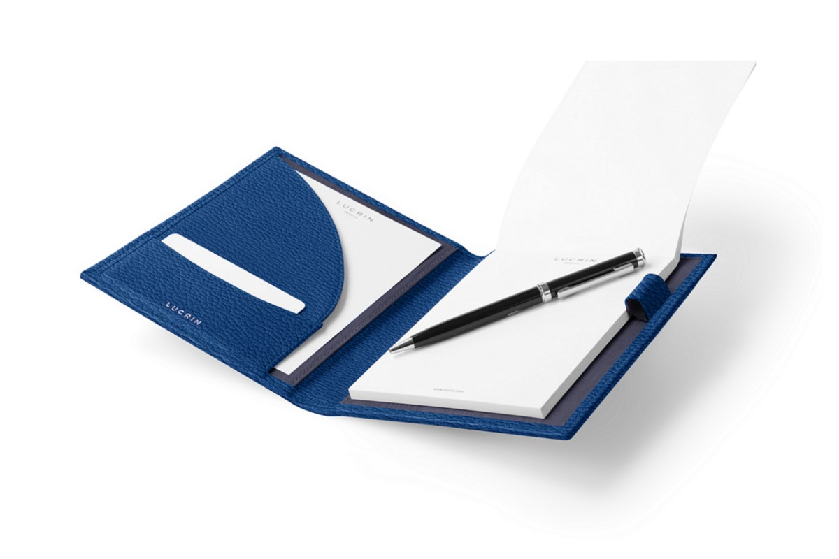 A6 Document holder with paper pad