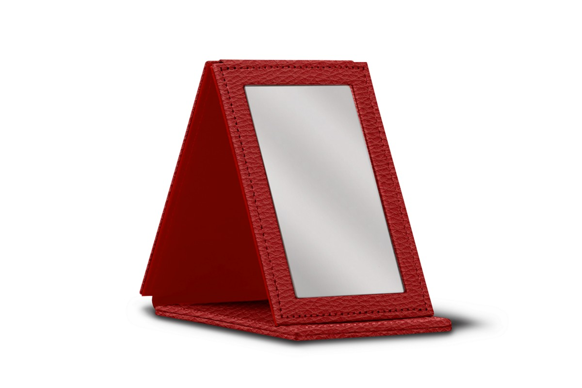 Rectangular pocket mirror