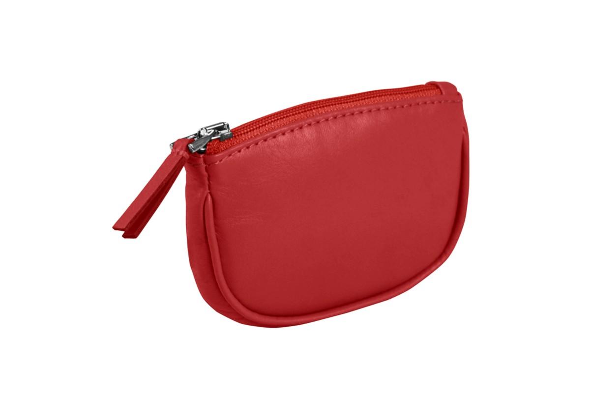 Zip-up change purse