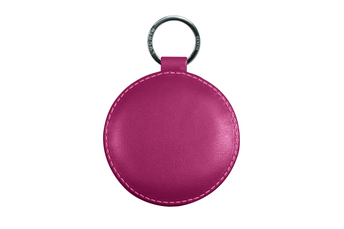 Round Silver Key Holder 3.54 inches