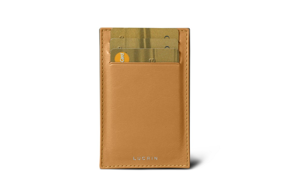Pocket note pad & card holder