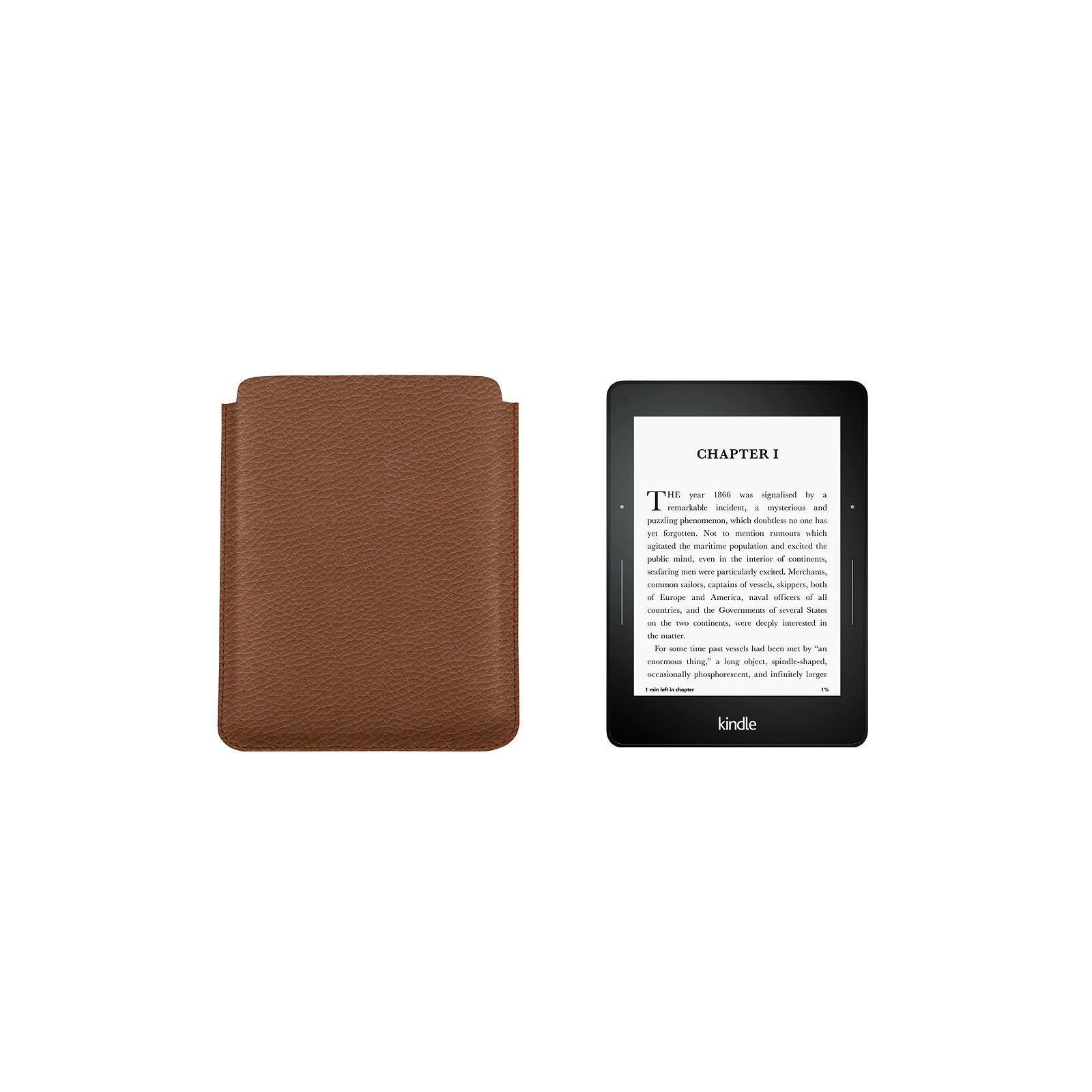 9b589625136 Funda para Kindle Voyage Coñac - Piel Grano Funda para Kindle Voyage Coñac  - Piel Grano 