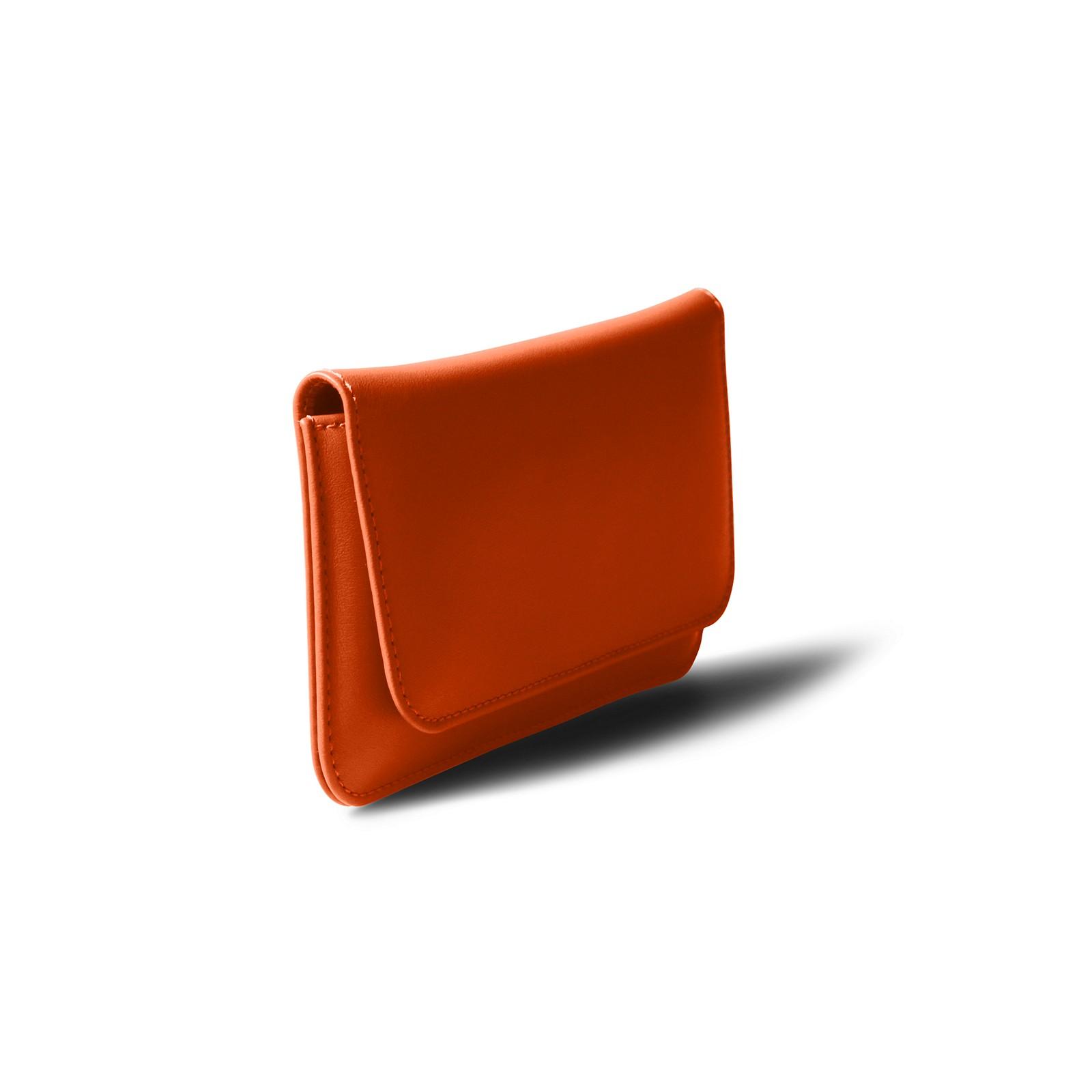 43a90e6818 Custodia da cintura per iPhone X Arancione - Pelle Liscia Custodia da  cintura per iPhone X Arancione - Pelle Liscia 
