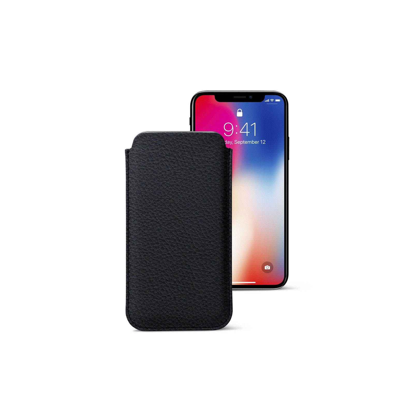 9ae9ccab14b337 Classic Case for iPhone X Navy Blue - Granulated Leather Classic Case for  iPhone X Navy Blue - Granulated Leather 