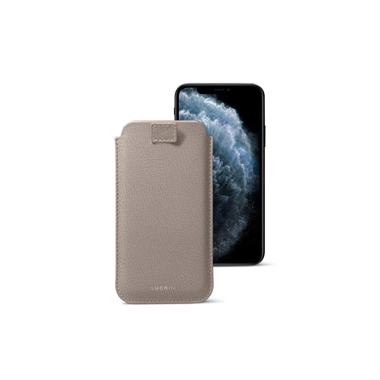 brand new 9653d 5ee22 Pull Tab Slim Sleeve Case Compatible with iPhone XS /iPhone X and Wireless  Charging