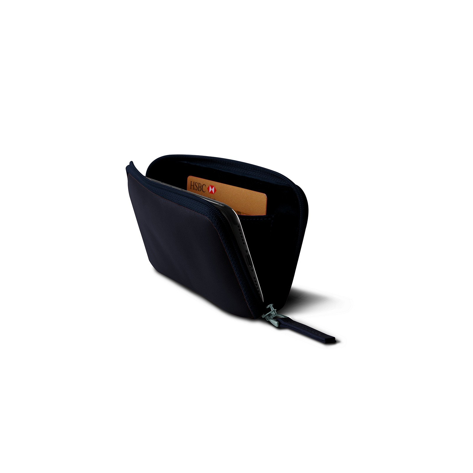 timeless design 1b6b8 9cd18 Zipped pouch for iPhone X