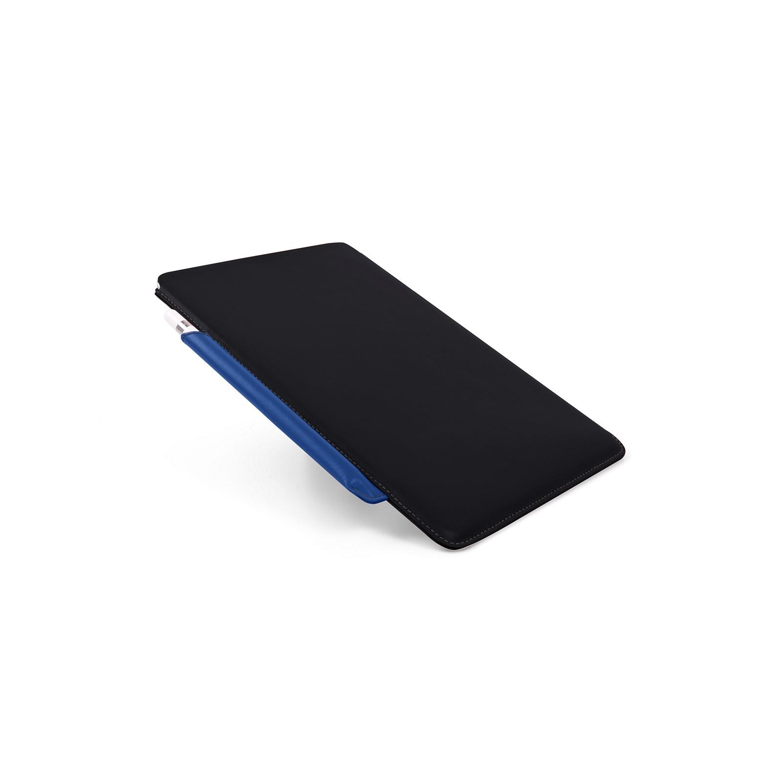 62c939acdbe Funda para iPad de con soporte para Apple Pencil Negro-Cielo Azul - Piel  Liso Funda para iPad de con soporte para Apple Pencil Negro-Cielo Azul -  Piel Liso