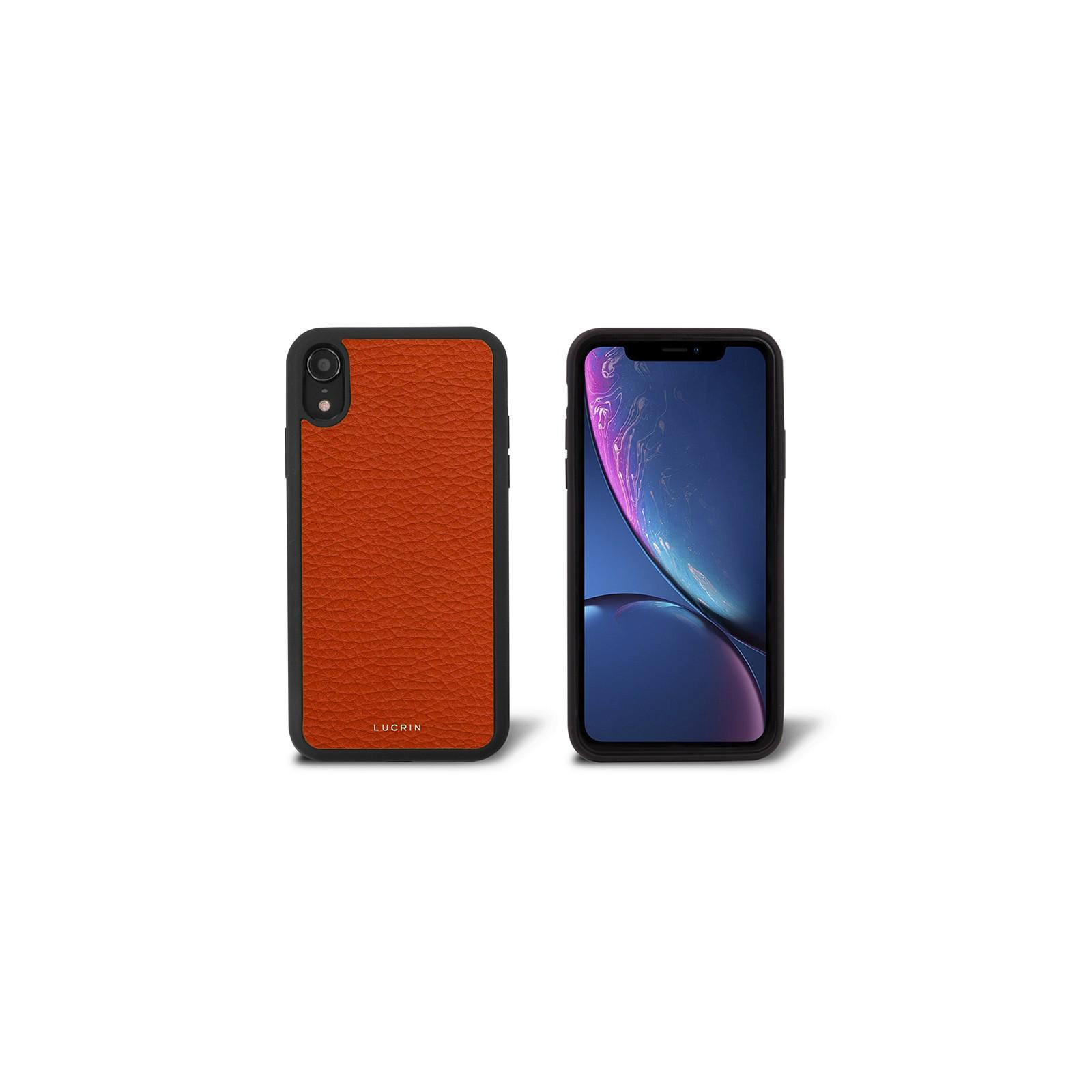 5bb73927a7e Funda para iPhone XR Naranja - Piel Grano Funda para iPhone XR Naranja -  Piel Grano 