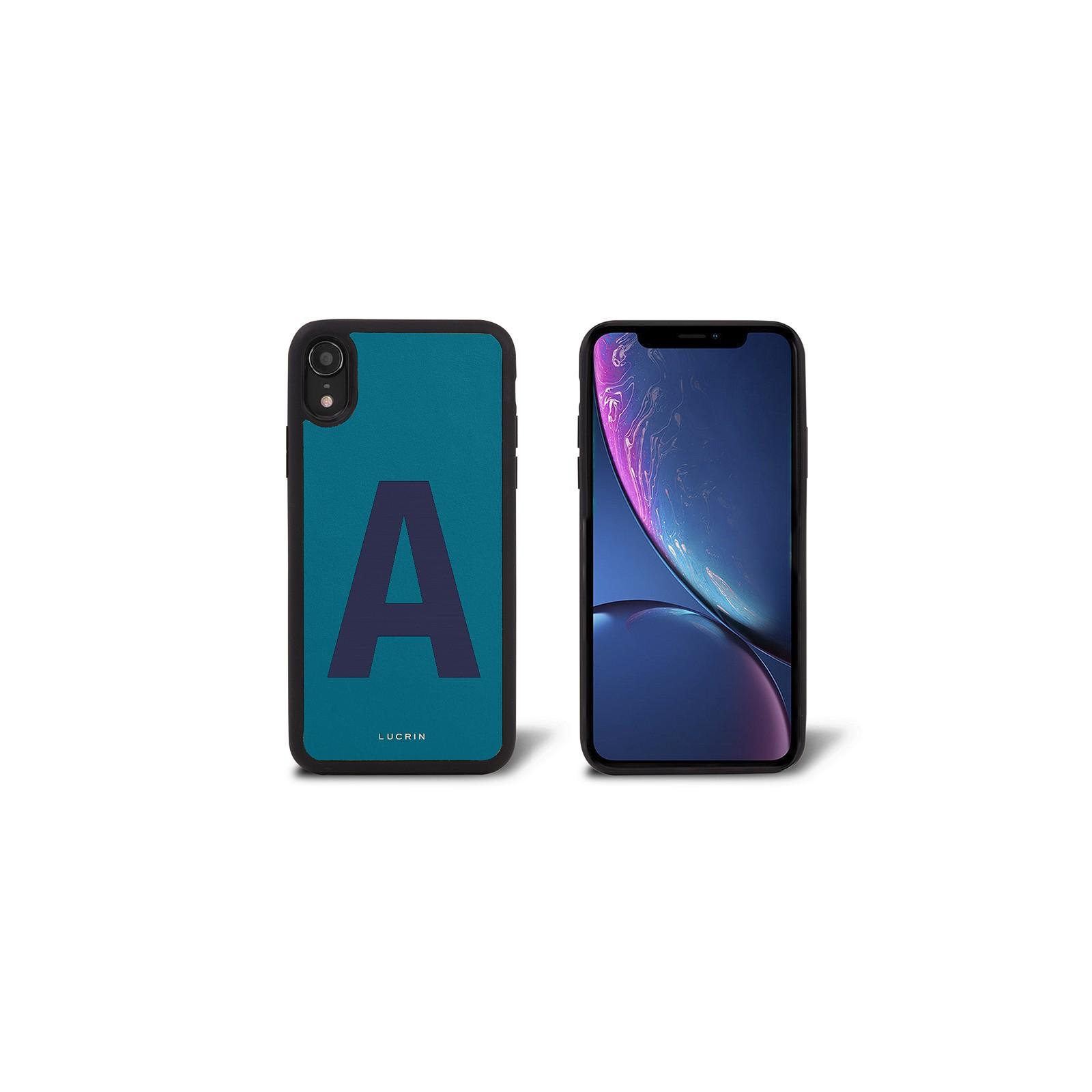 custom iphone xr leather case