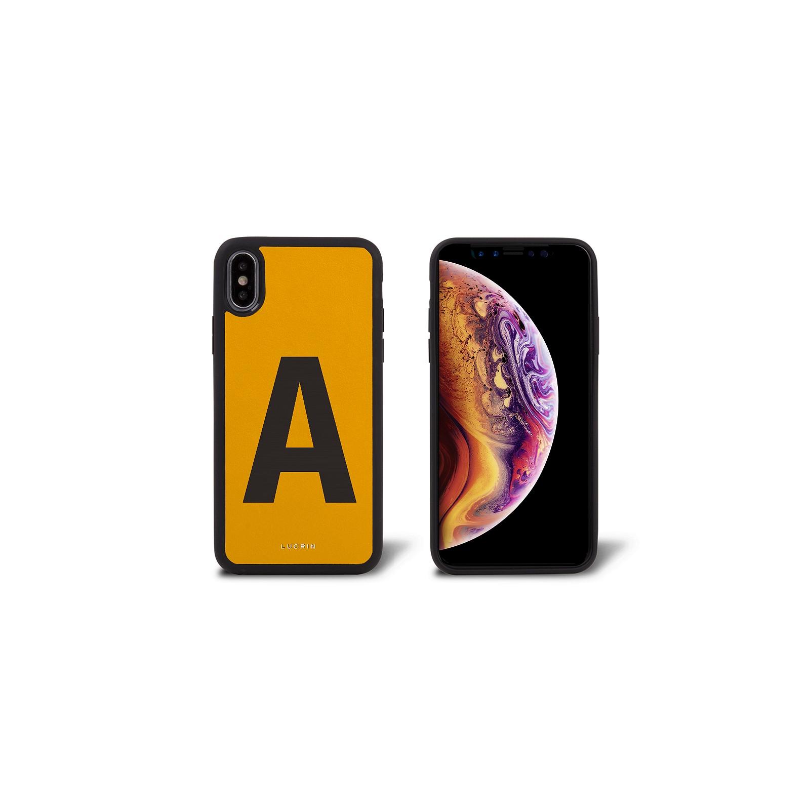 Personalisierte Iphone Xs Max Hülle Aus Leder