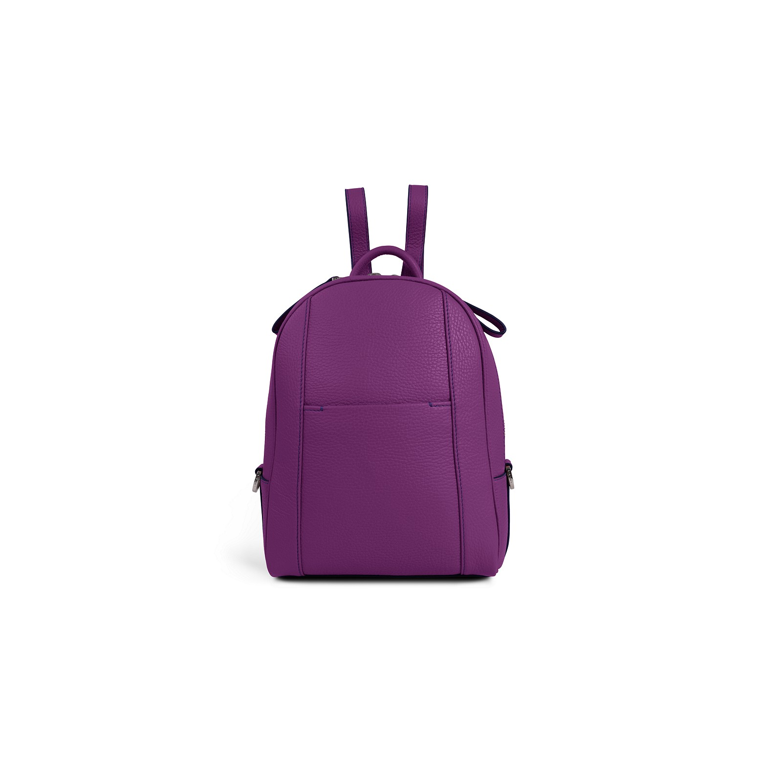 945d62b2450c Mini backpack Purple - Granulated Leather Mini backpack Purple - Granulated  Leather