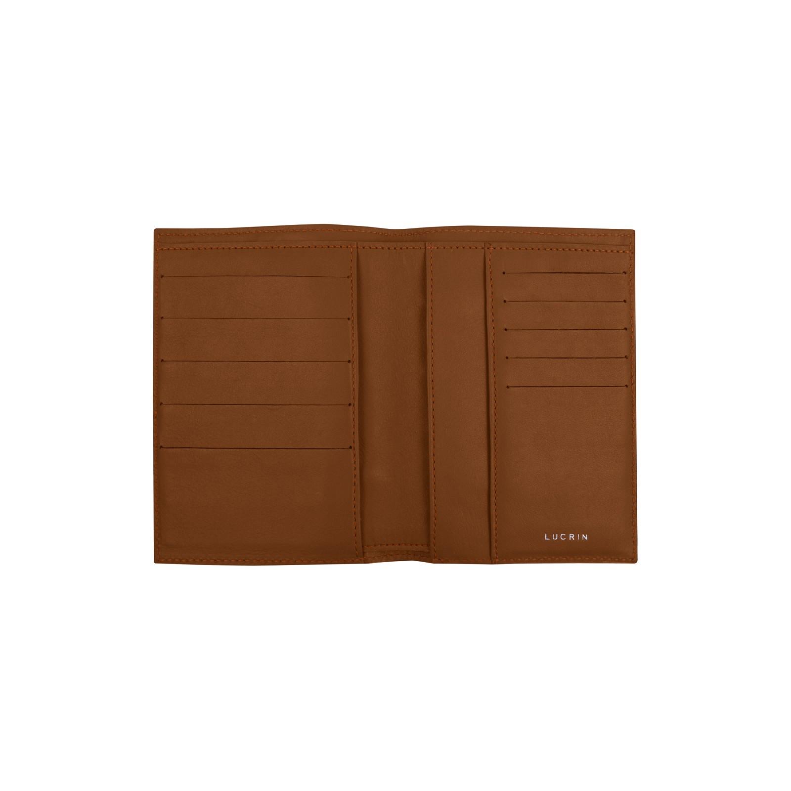 fce5a00145 Portafoglio e portacarte di credito Tan - Pelle Liscia Portafoglio e portacarte  di credito Tan - Pelle Liscia 