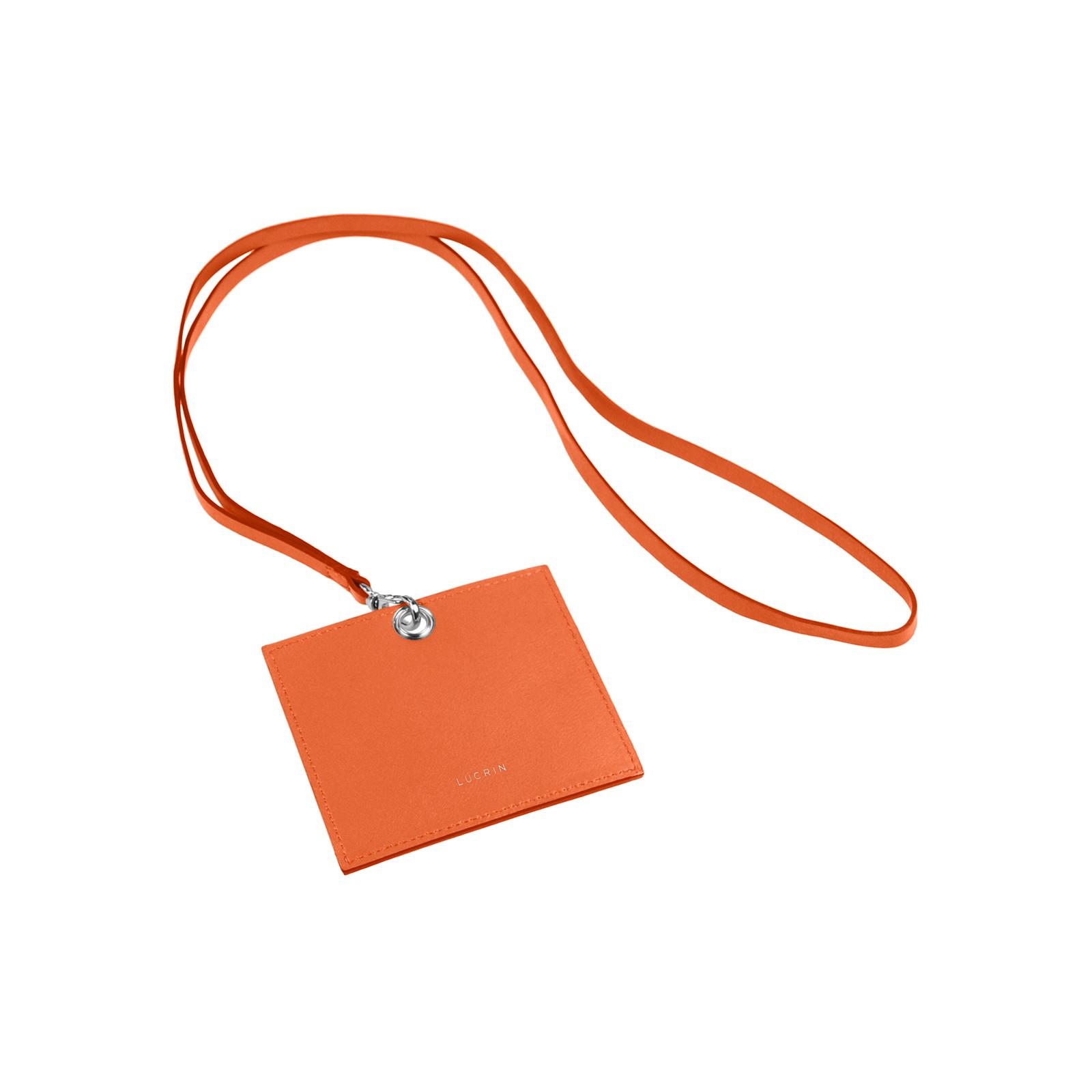 Portebadge En Cuir - Porte badge cuir