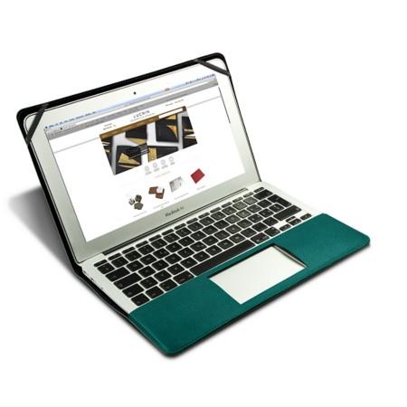 Scrigno semirigido in cuoio per MacBook Air 13 pollici