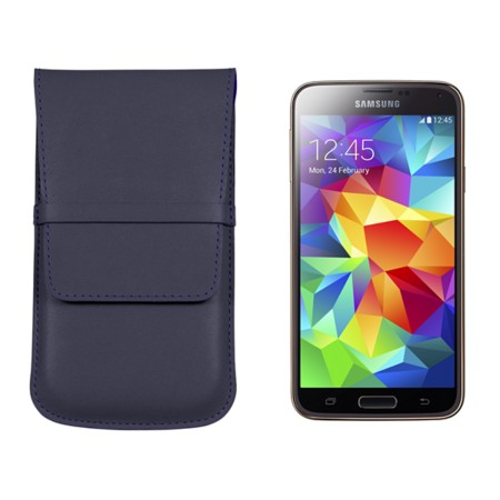 Case with flap for Samsung Galaxy S5