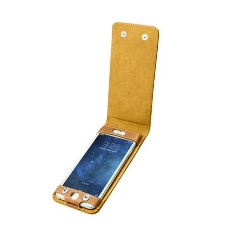 Funda con cierre de botón para el iPhone 6 Plus