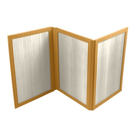Foldable frame for 3 vertical pictures