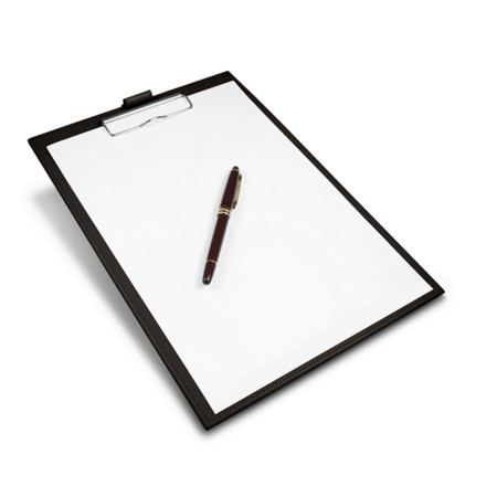 Almohadilla de escritorio A4 con clip
