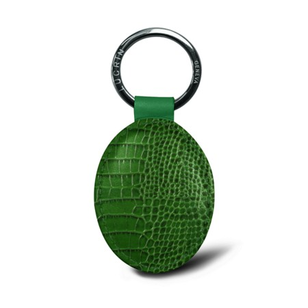 Oval-shaped Key Ring