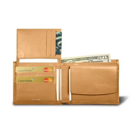 Wallet in 3 parts