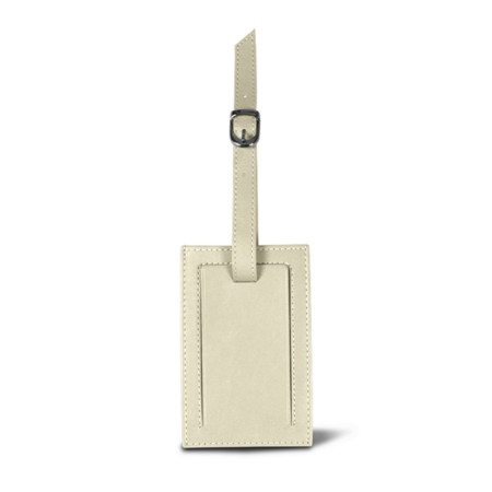 Bag Tag - Off-White - Smooth Leather