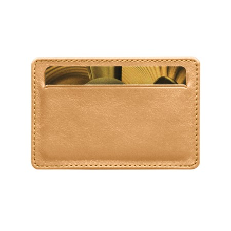 Pocket case for 2 credit cards