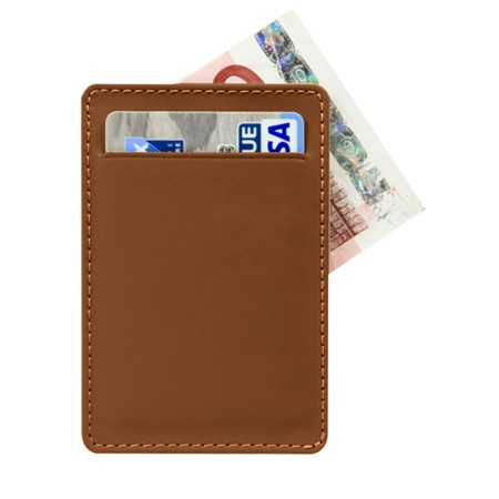 Case for 2 vertical cards with side slit